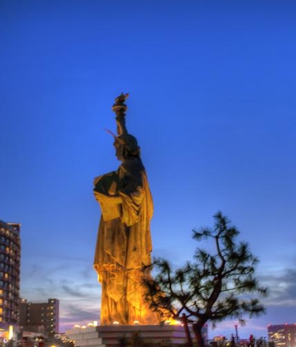 Statue of Liberty, Odaiba, Tokyo, Japan